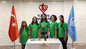 Türk öğrenciler sıfır atık projesi ile ABDde ödül aldı