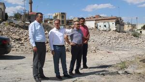 Hacılarda kentsel dönüşüm yıkım çalışmaları tamamlandı