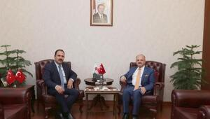 Cumhuriyet Başsavcısı İrcal, Vali Çakacak'ı ziyaret etti