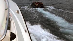 Sahil Güvenlik ekipleri 200 kaçak göçmeni yakaladı