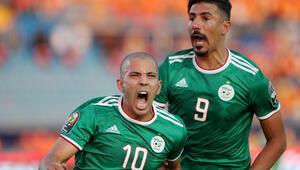 Feghouli attı, Cezayir yarı finale çıktı