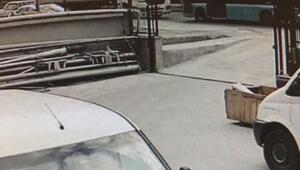 Esenyurtta 6 aracın karıştığı kaza kamerada