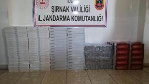 Cizrede 7 bin 520 paket kaçak sigara ele geçirildi