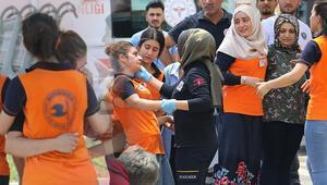 Diyarbakırda panik anları 50 kişi tahliye edildi