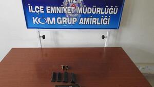 Nizip'te, silah kaçakçılığı operasyonu