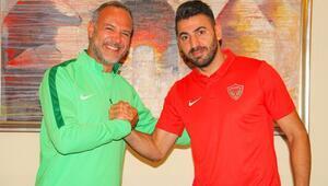 Hataysporda iç transferde Mirkan Aydın ile sözleşme imzaladı