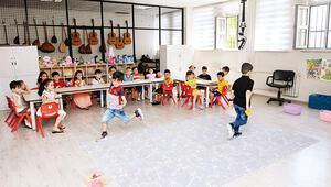 Suriyeli ve Türk çocuklar eğitimle kaynaşıyor
