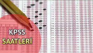 KPSS eğitim bilimleri sınavı saat kaçta başlayacak