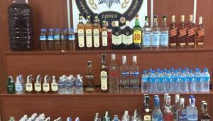 Tekirdağ'da kaçak içki uygulaması yapıldı