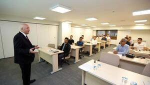 Belediye personeline mevzuat eğitimi