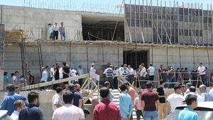 İnşaatı süren caminin alanının, park alanı yapılması kararına tepki
