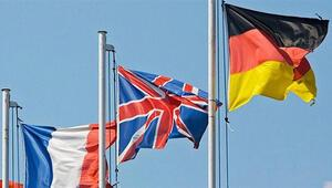İngiltere, Almanya ve Fransadan ortak açıklama