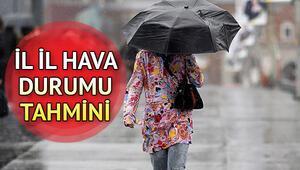 Yarın yağmur yağacak mı 15 Temmuz hava durumu tahminleri