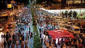 15 Temmuz Milli Birlik  ve Demokrasi Günü'nde Büyük buluşma