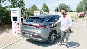 Dünya hazır sıra bizde Stuttgart'ta Mercedes'in ilk elektrikli otomobili EQC'yi test ettim