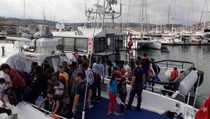 İzmirde 88 kaçak göçmen yakalandı