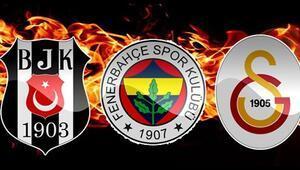 Beşiktaş, Fenerbahçe ve Galatasarayda son dakika transfer haberleri