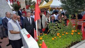 Gaziantepte 15 Temmuz şehidi, mezarı başında anıldı
