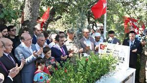 15 Temmuz şehitleri, Diyarbakırda kabirleri başında anıldı