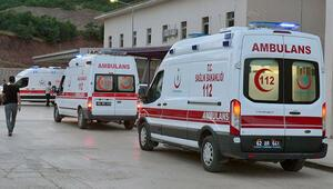 Ovacıkta patlama: 2 çocuk hayatını kaybetti