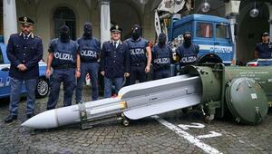 İtalya'da Neo-Nazi operasyonu: Füze ele geçirildi