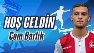 Cem Barlık, BB Erzurumsporda | Transfer haberleri...