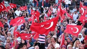 Aksarayda 15 Temmuz Demokrasi ve Milli Birlik Günü anıldı
