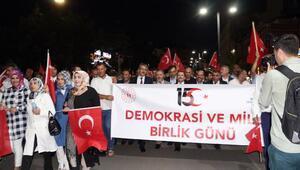 Bingölde 15 Temmuz Demokrasi ve Milli Birlik Günü buluşması
