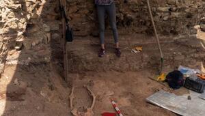 Sinop'ta arkeologları şaşırtan iskelet!