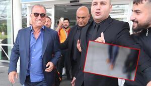 Fatih Terim'in dikkat çeken görüntüsü