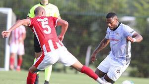 Beşiktaştan 2 gollü prova
