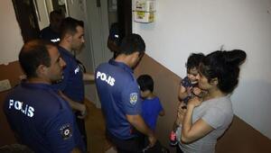 Sultangazide evde hırsız var ihbarı polisi alarma geçirdi