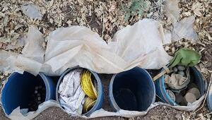 PKKya ait 3 lojistik depo imha edildi