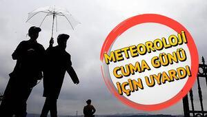 Nerelere yağmur yağacak Hava durumu tahminleri