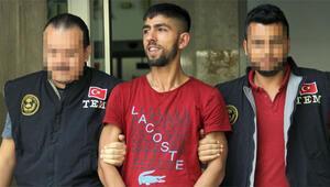 Polise ateş açtı Cezaevine götürülürken böyle güldü…
