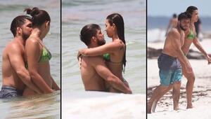Güreşçinin plaj romantizmi