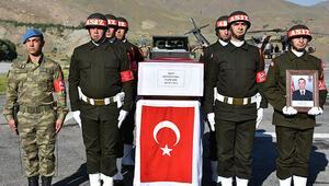 Şehit piyade uzman onbaşı Mustafa Ünal için tören düzenlendi
