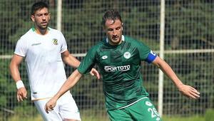 Konyaspor - Alanyaspor maçında tek gol