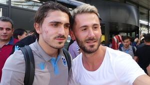 Trabzonspora Linzde coşkulu karşılama
