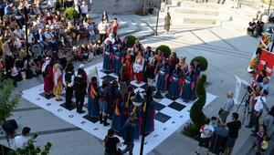 Altındağ'da yöresel satranç