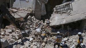 İdlibdeki saldırıda ölü sayısı 17e yükseldi