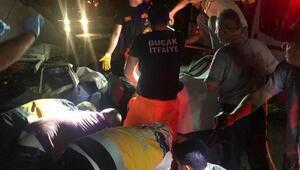 Burdurda kaza: Sürücü, amcası ve dedesi öldü