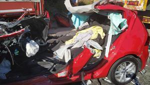 Muğla'daki korkunç kazadan sağ kurtuldular
