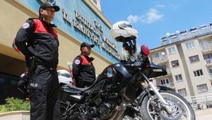 Motosikletli polis timi göreve başladı