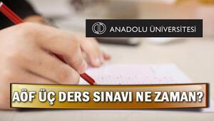 AÖF 3 ders sınav yerleri açıklandı