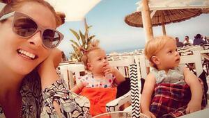 İkizlerle tatilde!