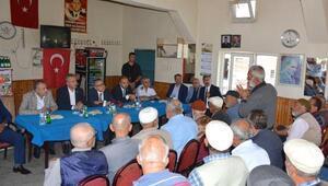 Vali Şimşek, köy ziyaretlerinde vatandaşları dinledi