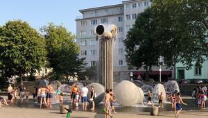 Avrupa sıcak hava dalgasının etkisinde