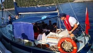 Muğlada 37 kaçak göçmen yakalandı