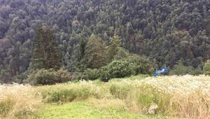 Uçuruma yuvarlanan kamyonetin sürücüsü öldü